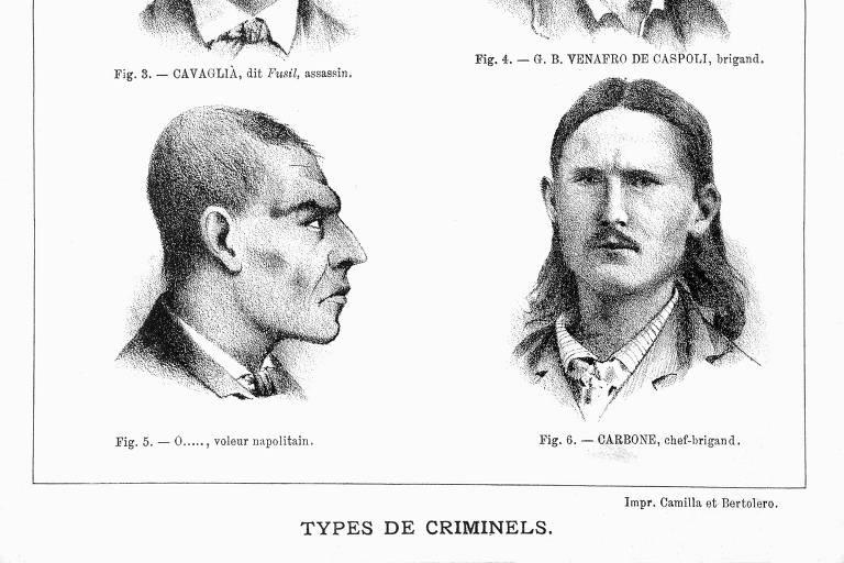Lombroso, o homem que disse haver um rosto típico de criminoso, não foi cancelado