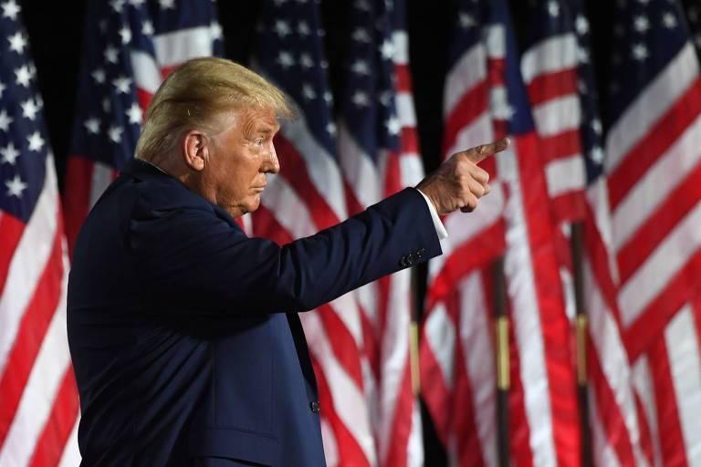 Trump aposta no medo e demoniza Biden, 'cavalo de Troia dos socialistas'