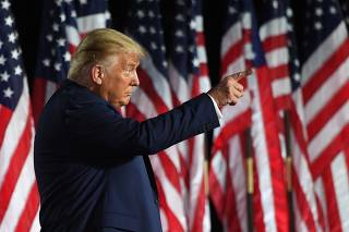 Republican National Convention where Trump will be formally nominated as candidate