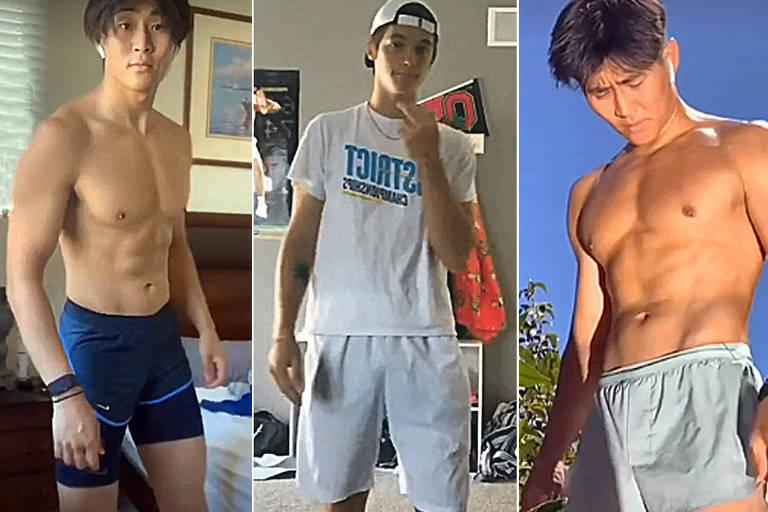 Moda criada pelo TikTok: homens estão sendo convencidos a usar bermudas/shorts curtos