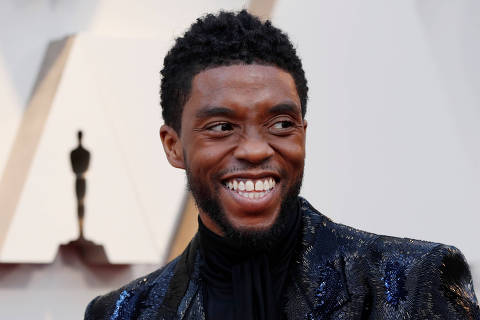 FILE PHOTO: 91st Academy Awards - Oscars Arrivals - Red Carpet - Hollywood, Los Angeles, California, U.S., February 24, 2019.  Actor Chadwick Boseman of