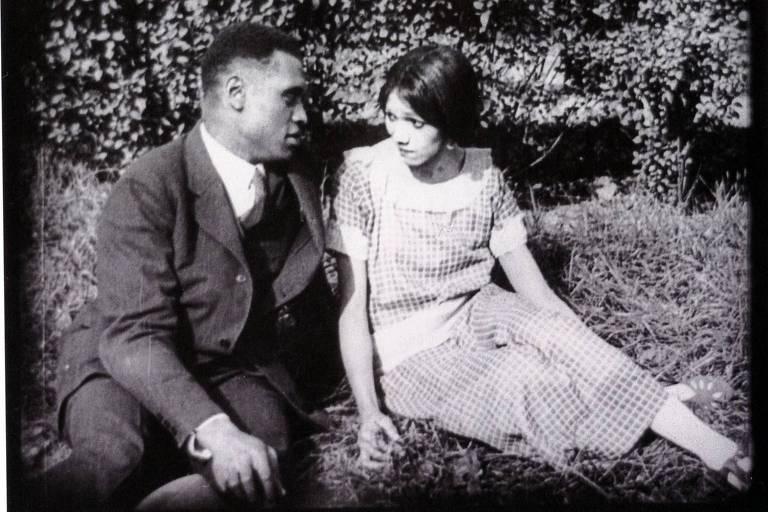 "Cena de ""Corpo e Alma"", dirigido pelo cineasta negro Oscar Micheaux, em 1925"