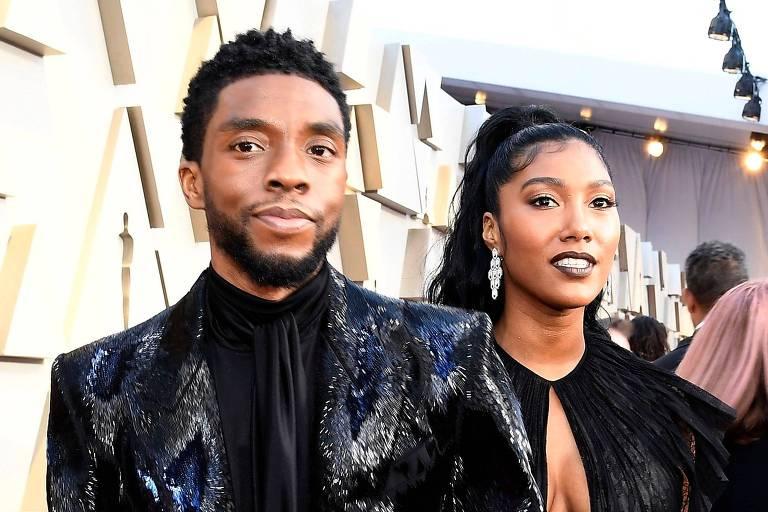 Chadwick Boseman se casou com noiva antes de morrer, diz revista