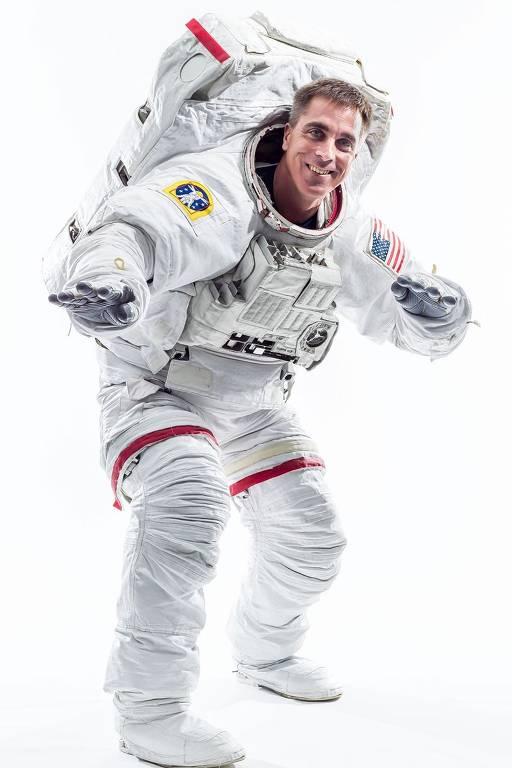 Imagens do astronauta Chris Cassidy
