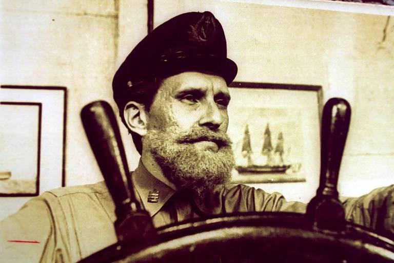 Pietro Mário no programa infantil 'Capitão Furacão'