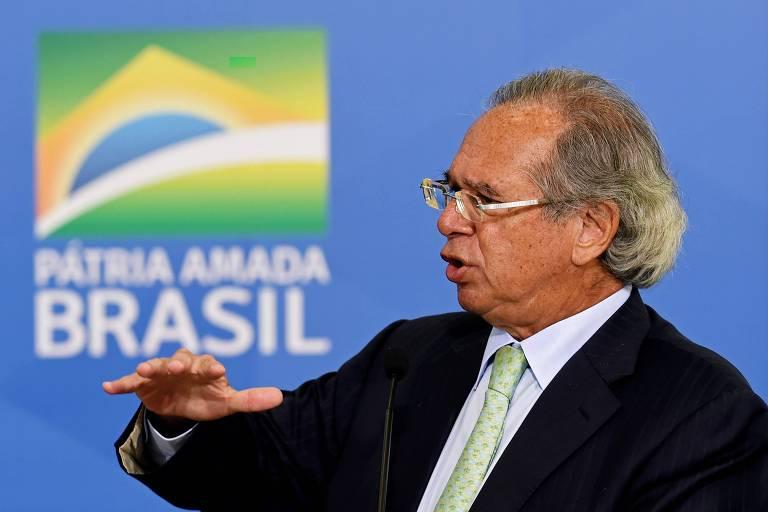 Guedes diz haver quebradeira de empresas no país e defende nova lei de falências