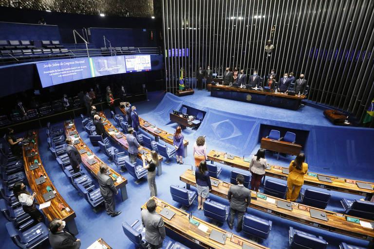 Plenário em Brasília