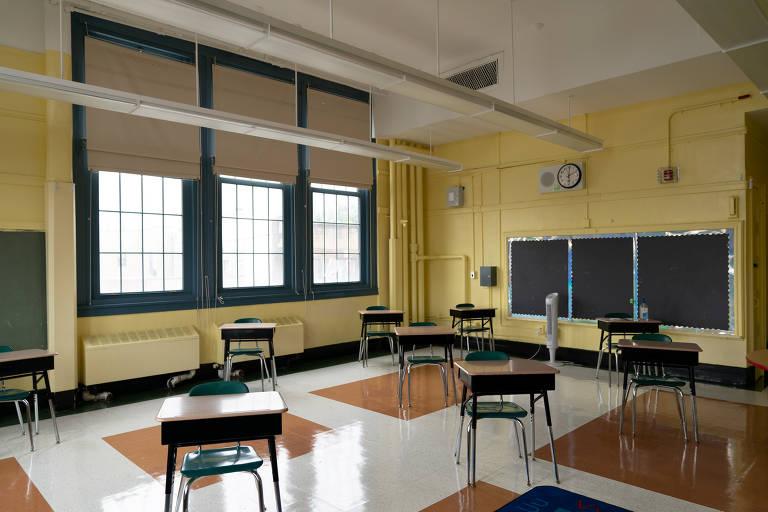 Nos EUA, volta às aulas também causa debate e insegurança