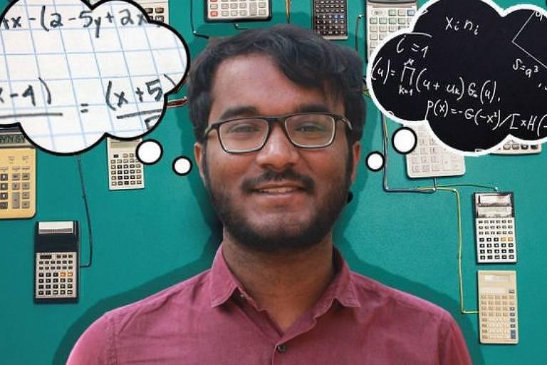 Bhanu tem ajudado as pessoas na Índia rural a se conectarem com a matemática durante o confinamento