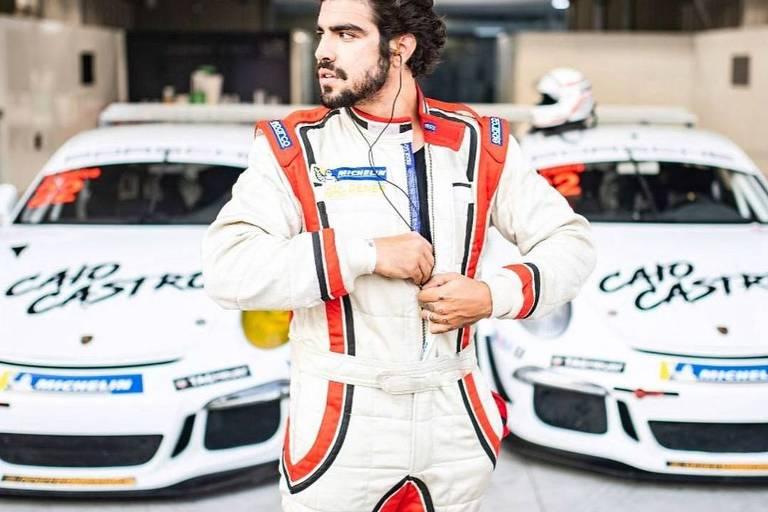Caio Castro vai virar piloto da Porsche Cup e diz que não abandonará TV