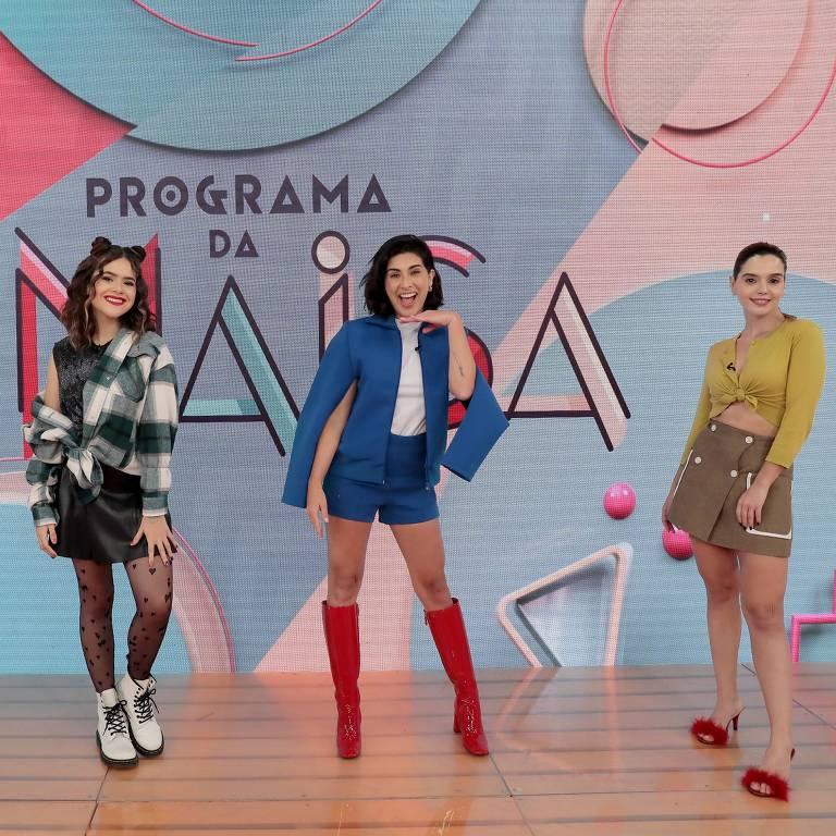 Neste sábado, 05 de setembro,  Maisa recebe duas grandes amigas: as atrizes Fernanda Paes Leme e Giovanna Lancelotti