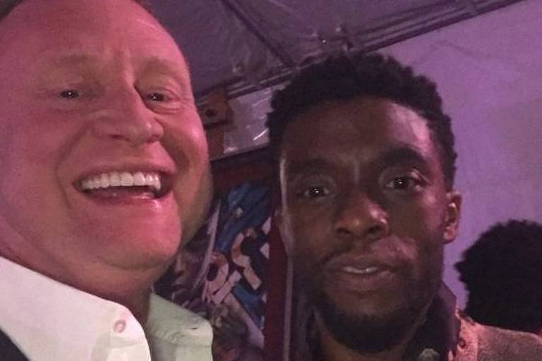 Boseman convidou Carter para assistir à estreia mundial de 'Pantera Negra'