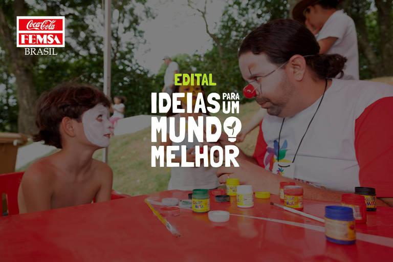 """Edital """"Ideias para um Mundo Melhor"""" destinará R$ 500 mil para projetos sociais de ONGs que apresentem soluções com potencial para minimizar os impactos da pandemia nas comunidades"""