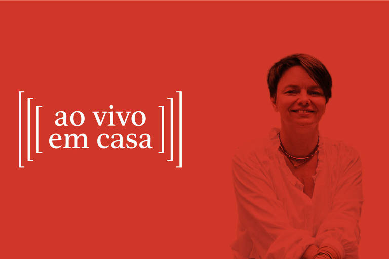 A chef Leticia Massula, convidada do Ao Vivo em Casa