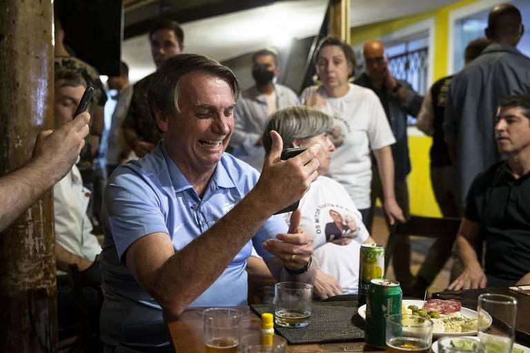 Bolsonaro no Vale do Ribeira, sua terra natal