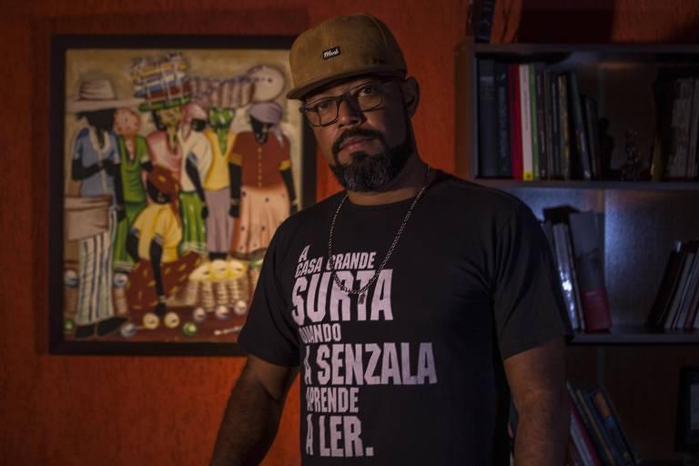 O militante do movimento negro Douglas Belchior, que acompanha o debate sobre candidaturas negras no TSE