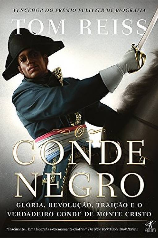 """Capa do livro """"O Conde Negro"""", de Tom Reiss"""