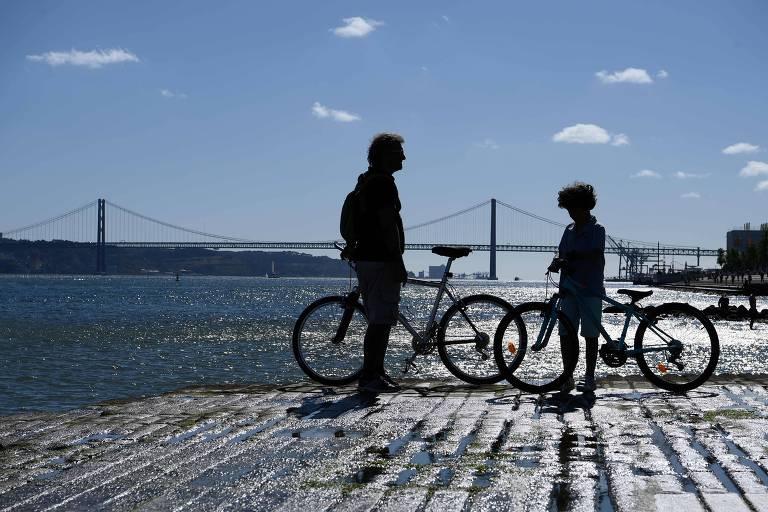 No pós-pandemia, Lisboa constrói ciclovias e dá até 500 euros para compra de bicicletas