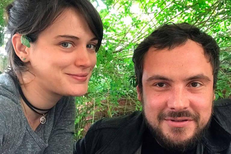 Bianca Bin e Sergio Guizé