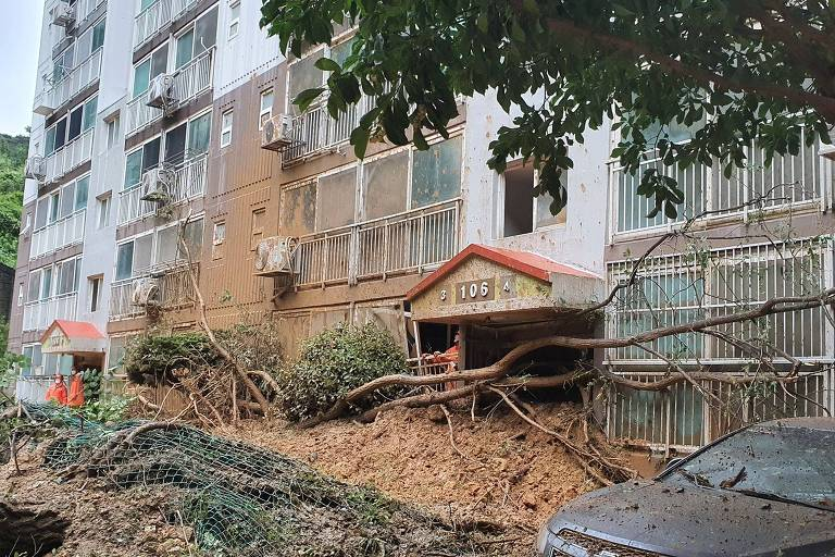 Tufão Haishen atinge Coreia do Sul após desabrigar 2 milhões no Japão