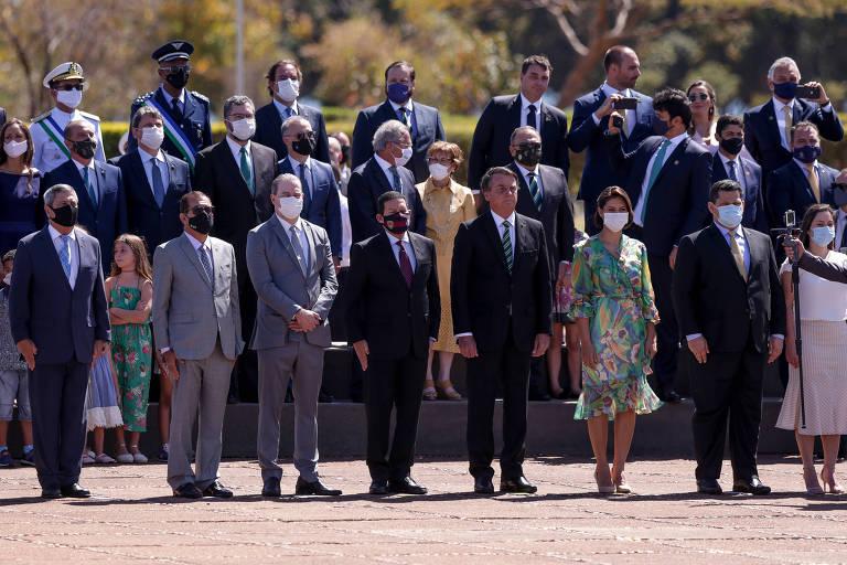 Cerimônia do 7 de Setembro em 2020