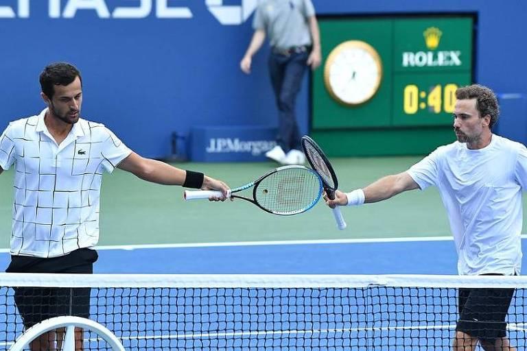 Bruno Soares perde final de duplas em Paris, mas garante liderança do ranking