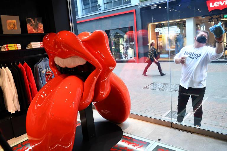 Nova loja temática dos Rolling Stones em Londres