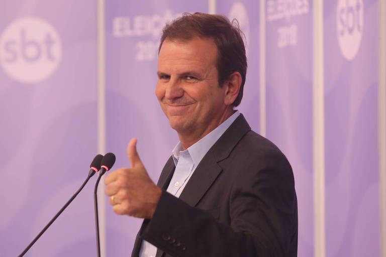 Eduardo Paes (DEM), candidato a prefeito do Rio