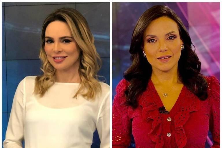 Jornalistas Rachel Sheherazade e Márcia Dantas