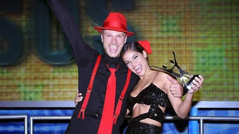 Rodrigo Hilbert se consagrou campeão da Dança dos Famosos em 2007