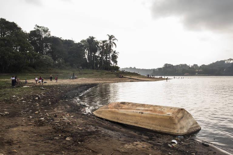 Volume nas represas da Grande SP cai 21,2% em um ano