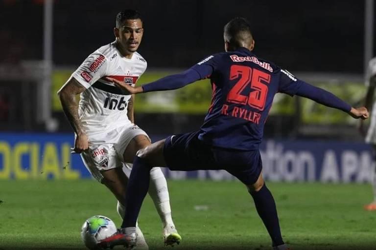 São Paulo x RB Bragantino pelo Brasileirão 2020