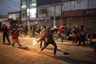 COLOMBIA-BOGOTA-PROTESTA