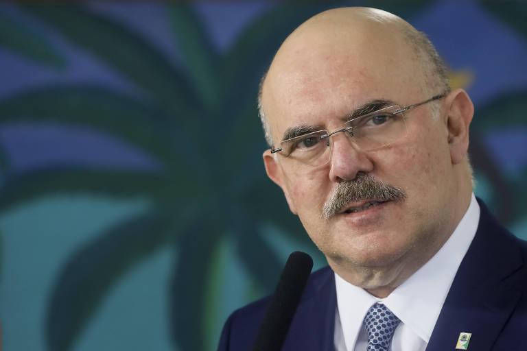 O ministro da Educação, Milton Ribeiro