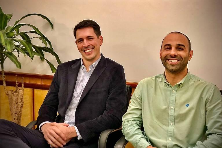 Os advogados Jahmur Zogbi e Marcelo Duquia, fundadores da CrediJudi, antecipadora fundada em março, em Porto Alegre