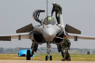 Rafale fighter jet induction ceremony in Ambala