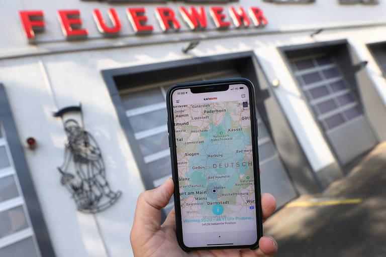 Sirenes da Guerra Fria vencem aplicativos modernos em teste na Alemanha