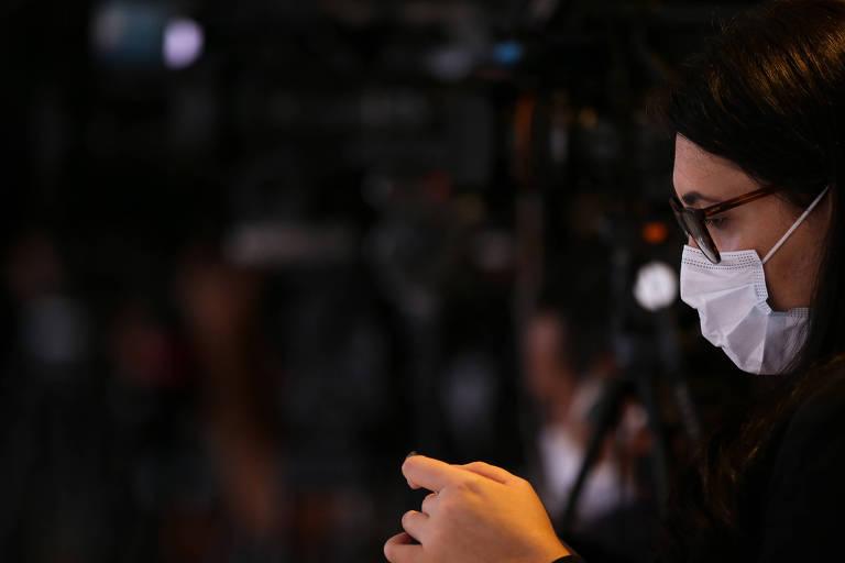 O trabalho da imprensa durante a pandemia em Brasília
