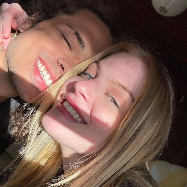 O casal Luisa Sonza e Vitão