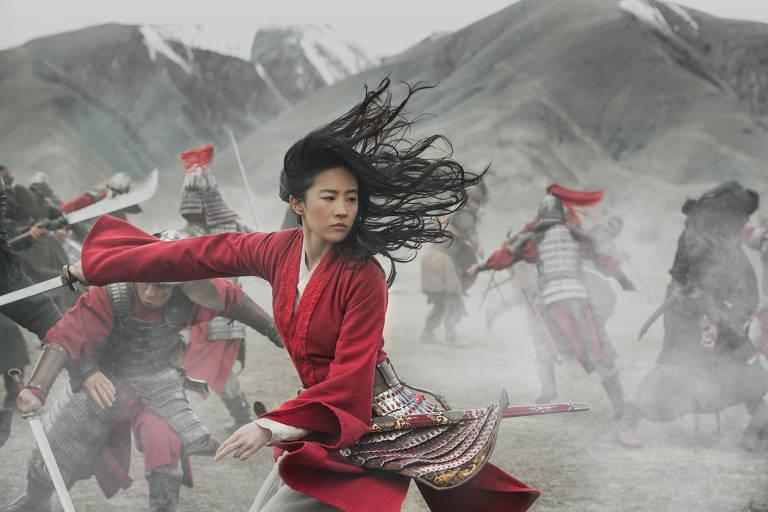 Imagens do fime Mulan