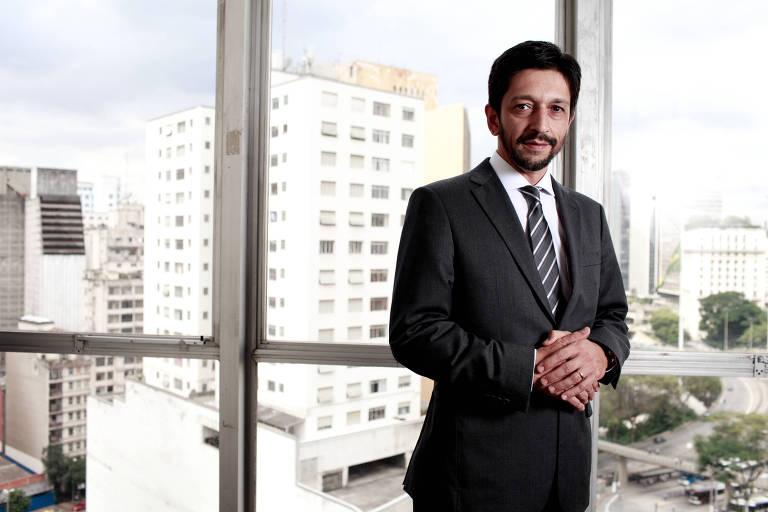 O vereador Ricardo Nunes, do MDB