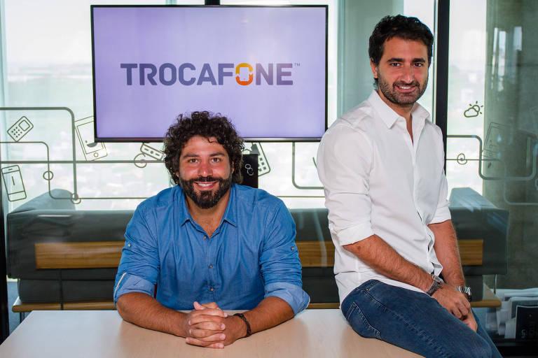 Os líderes da Trocafone, Guille Freire, CEO, e Guille Arslanian, COO