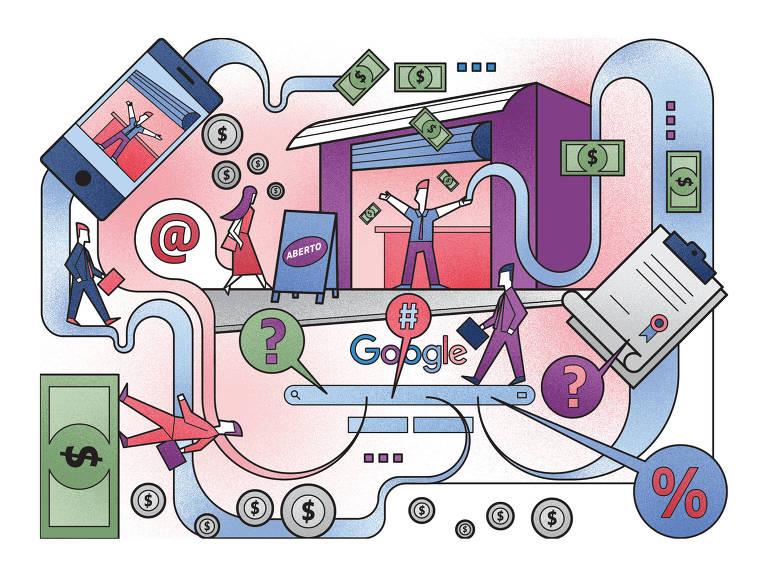 Ilustração sobre empreendedorismo