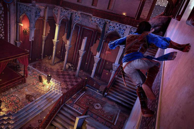 Ubisoft faz remake de 'Prince of Persia: Sands of Time'