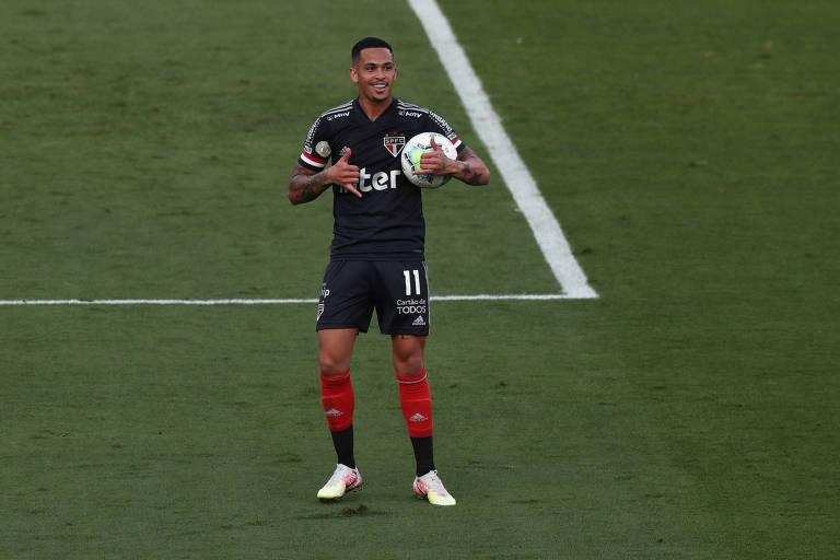 Luciano chegou ao São Paulo no início do Brasileiro e já marcou 4 gols na competição