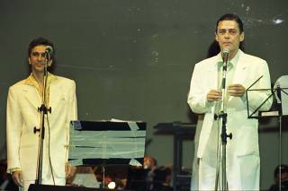 Caetano Veloso e Chico Buarque
