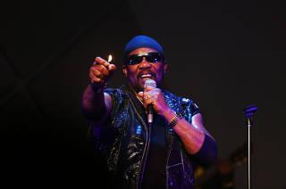 Show da banda jamaicana Toots & The Maytals, no Cine Joia, em SP