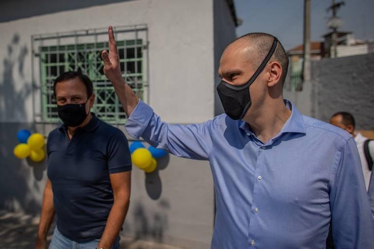 Para barrar Russomanno, aliados de Covas reforçam voto útil contra Bolsonaro
