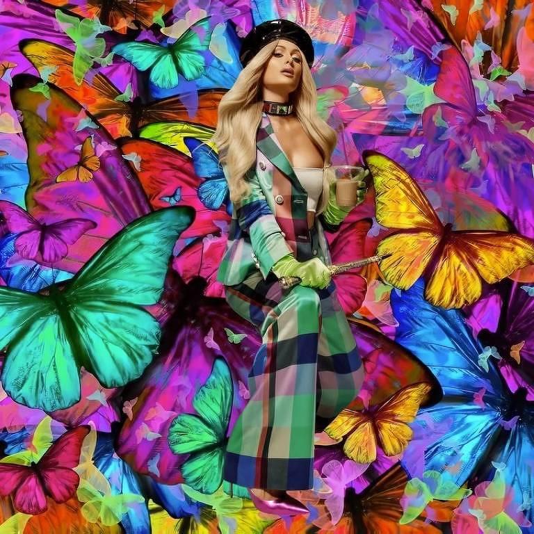 Imagens da socialite Paris Hilton