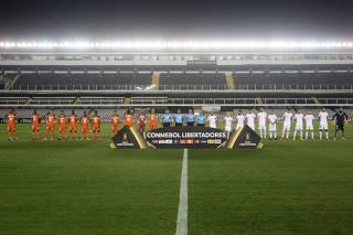 Copa Libertadores - Group G - Santos v Delfin